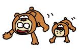 支持力 【目標】側転・跳び箱 クマさん歩き