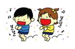跳躍力 【目標】縄跳び カンガルーさん